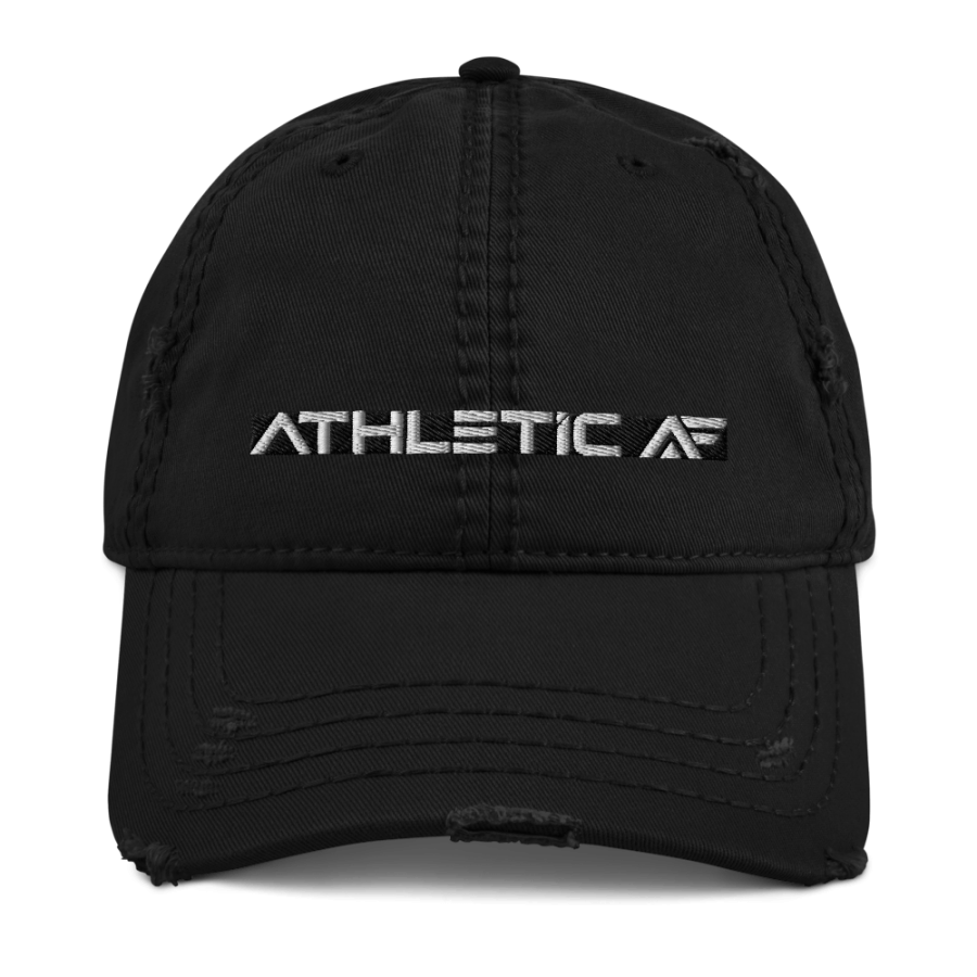 Athletic AF Distressed Dad Hat by John Madsen | Athletic AF | Upgrade your Business, Fitness & Mindset