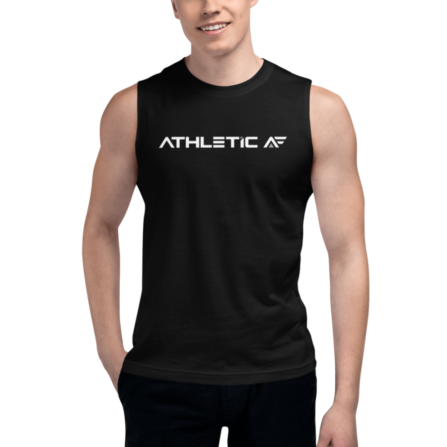 Muscle Shirt John Madsen| Athletic AF | Upgrade your fitness