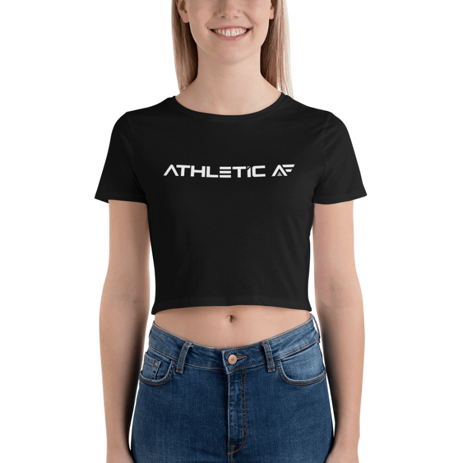 Women's Crop Tee by John Madsen | Athletic AF | Upgrade your fitness