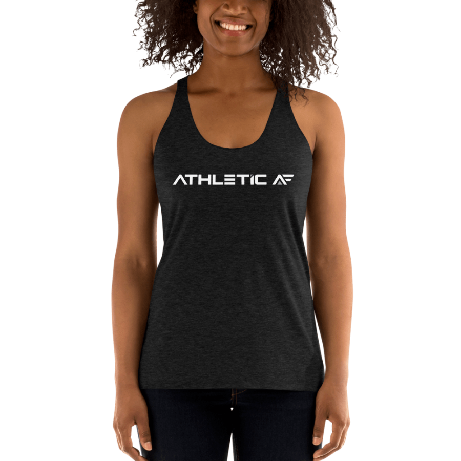 Women's Racerback Tank by John Madsen | Athletic AF | Upgrade your fitness