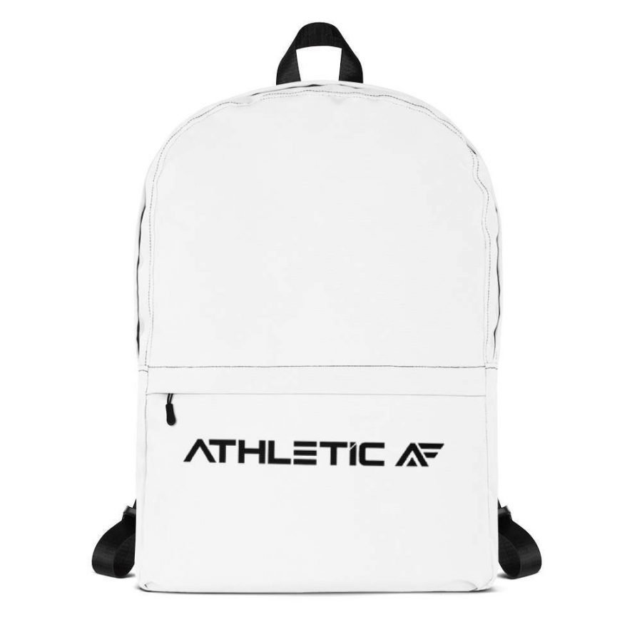 White Backpack Athletic AF